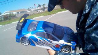 (112MPH PASS) REDCAT RACING / EXCEED RC Mamba Max Pro With 9000kv Motor&Blue Lipo 4cell Battery