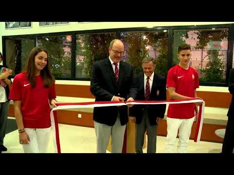 L'AS Monaco Omnisports découvre son Club-House