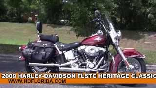 8. Used 2009 Harley Davidson Heritage Classic Motorcycles for sale
