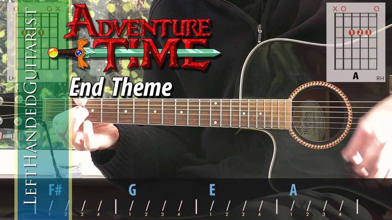 Adventure Time – End Theme   guitar lesson