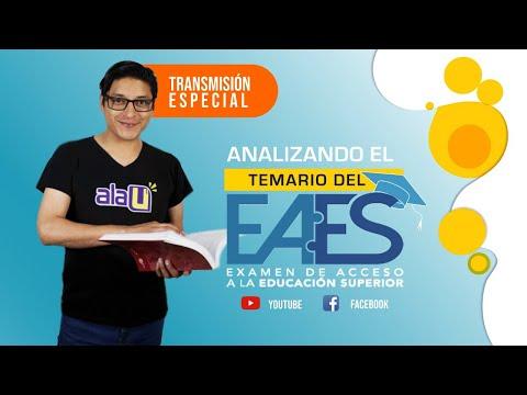 🔴 Transmisión especial | Analizando el temario del examen EAES de la SENESCYT