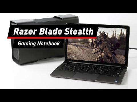 Razer Blade Stealth: Notebook mit Extra-Gehäuse für G ...