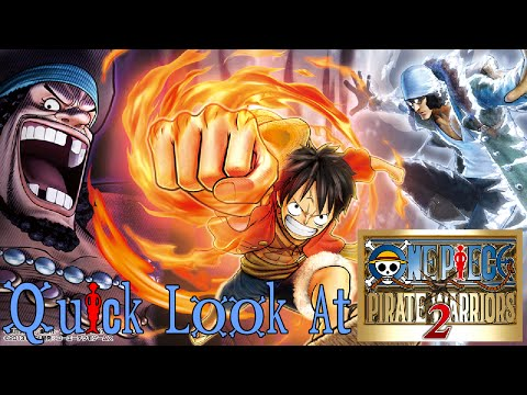 Let's Take a Quick Look at One Piece: Pirate Warriors 2