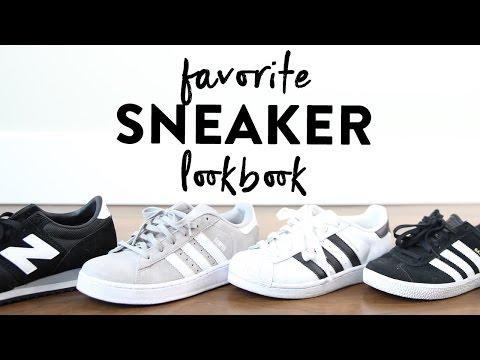 Favorite Sneakers Summer Lookbook | Adidas Gazelle Campus & Superstar | New Balance 620 | Miss Louie