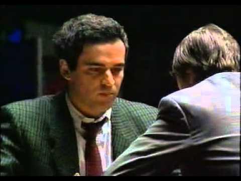 Kasparov Karpov Lyon 1990
