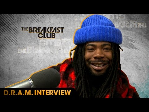 D.R.A.M. On Drake Taking The Cha Cha Beat, His Debut Album and His Dog On The Breakfast Club