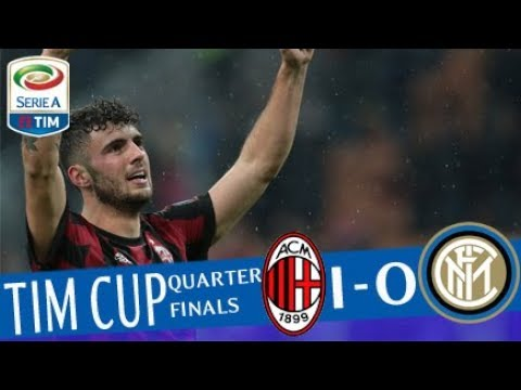 Milan - Inter 0-0 (1-0 dts) - Highlights - TIM Cup 2017/18
