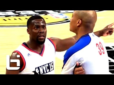 Kevin Hart FUNNY Basketball Moments 2015