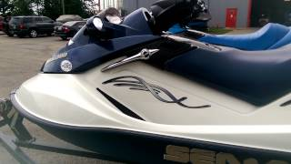 10. 2005 and 2008 Sea Doo GTX- '05 Navy Blue/ White '08 Royal Blue/ White Walk Around