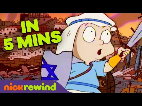 'A Rugrats Chanukah' Special 🕎 FULL EPISODE in 5 Minutes!   NickRewind