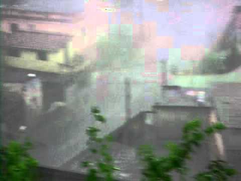 granizo em vila coringa em barra mansa RJ