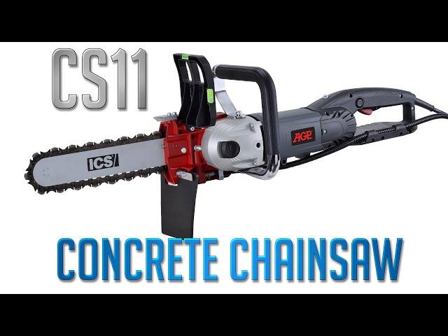 Concrete Chainsaw AGP CS11 I Concrete Cutter