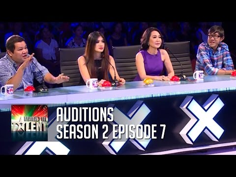 Myanmar's Got Talent 2015 | Auditions | Season 2 Episode 7  | FULL:  Myanmar's Got Talent 2015  Season 2 is back! Watch talent from across Myanmar audition in front of this years judges! Subscribe to the Official YouTube Channel: !http://bit.ly/MyanmarsGotTalent_YTWatch more from Talent from Myanmar here: http://bit.ly/MORE_MyanmarTalentTune in Every week to see more from Myanmar's Got Talent! မြန်မာ အခွက်တဆယ် တယ်This video features some of the most talented acts - singers and dancers who has made it this far in the competition! Watch more from Myanmar's Got Talent 2015: http://bit.ly/MORE_MyanmarTalent