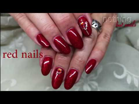 Nageldesign - red nails   nothing but nails