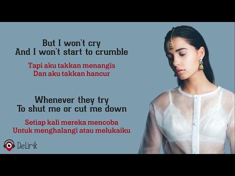 Speechless - Naomi Scott [OST. Aladdin] (Lyrics video dan terjemahan)