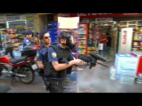 Türkei: Polizei zerschlägt LGBT-Demo in Istanbul