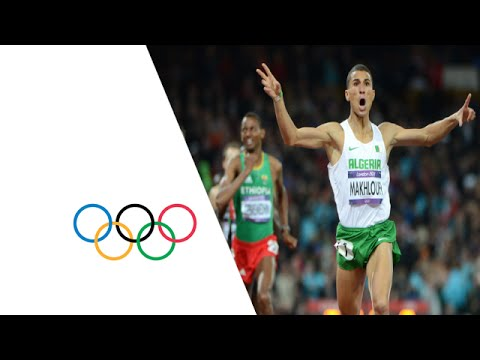 Taoufik Makhloufi (ALG) Wins 1500m Gold - London 2012 Olympics