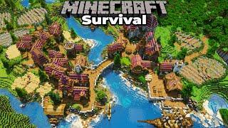 Finishing my Minecraft 1.15 Survival Village Project!