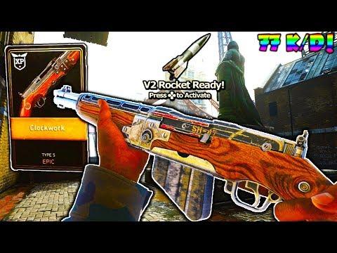 EPIC TYPE 5 DLC GUN is UNSTOPPABLE on COD WW2! - 77 K/D V2 ROCKET w/ BEST TYPE 5 CLASS in COD WW2!