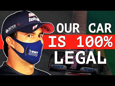 """Racing Point Has """"All the Evidence"""" of Legality"""