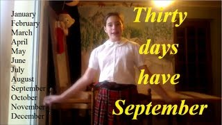 Thirty Days Have September - Combien De Jours Par Mois En Anglais?