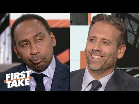 Video: Stephen A. gets annoyed with Max Kellerman saying the Browns are Super Bowl contenders | First Take