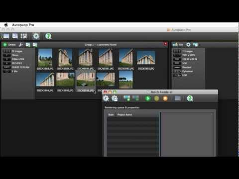 Autopano: Interface presentation