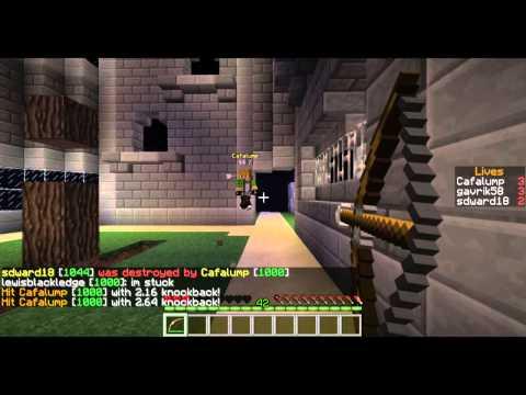 Суровый Minecraft и Маша[2]-Я буду ее пугать , а она кричать :3