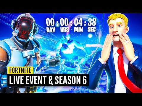 Fortnite LIVE EVENT and Season 6