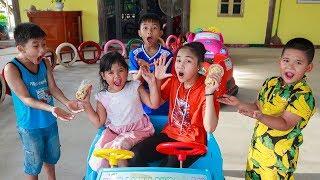 Video Kids Go To School   Chuns With Best Friends Go Supermarket Shopping Explore The Game Zone MP3, 3GP, MP4, WEBM, AVI, FLV Juli 2018