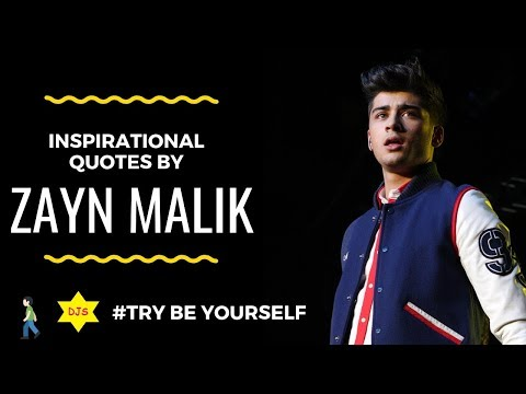 Thank you quotes - Inspirational Quotes By Zayn Malik