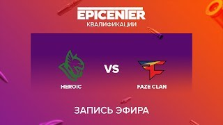 Heroic vs FaZe Clan - EPICENTER 2017 EU Quals - map1 - de_overpass [sleepsomewhile]