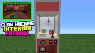 Minecraft Tutorial: How To Make A Claw Machine House Interior/Exterior