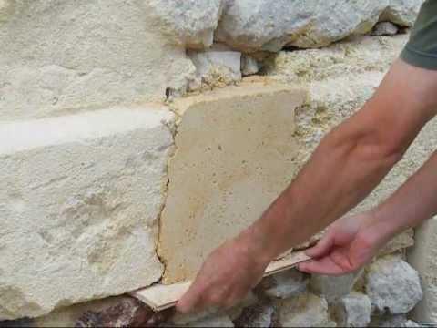 comment reparer des pierres de taille