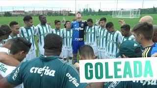 O Sub-16 do Palmeiras estreou com goleada de 9 a 0 o sobre Dianliu Jinan, na Future Cup, na China. Gols de Vitinho (3), João Salles (2), Caique Rodrigues, Kaique Ferraz, Passari e Isac.-----------------------Assine o Premiere e assista a todos os jogos do Palmeiras AO VIVO, em qualquer lugar, na TV ou no Premiere Play: http://bit.ly/1myhErs E se você já assina, participe da pesquisa e diga que seu time é o Palmeiras: http://bit.ly/2ad5HJo------------------------Seja Sócio Avanti, com desconto em ingressos e privilégios exclusivos! Clique aqui: http://bit.ly/1uKJsbA