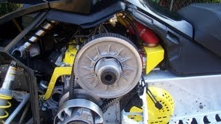 9. Servicing the TRA clutch on Ski-Doo Snowmobiles