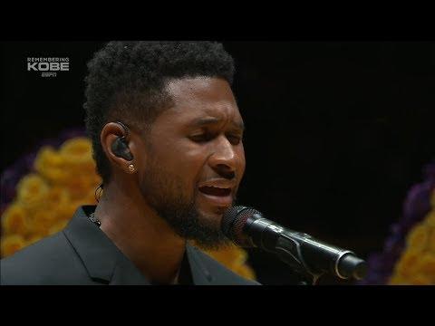 Usher's Tribute to Kobe Bryant
