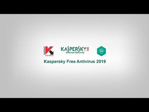 Kaspersky Free Antivirus 2019 Tested!