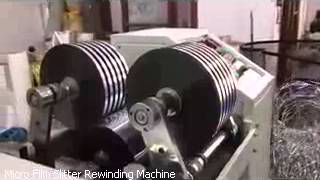 Micro Film Slitter Rewinding Machine – Krishna Engineering Works