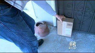 Vallejo Homeowner Leaves Poop Filled Box For Package Thief