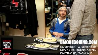 CROOKED STREETZ BOXING PRESS CONFERENCE PT 2