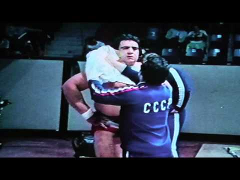 Wassili Alexejew (Vasili Alexeev), soviet weightlifter, wins 1976 Montreal Olympic gold