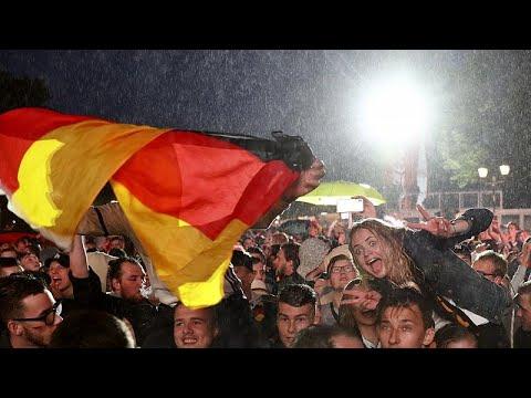 Μουντιάλ 2018: Οι Γερμανοί πανηγυρίζουν, οι Σουηδοί κλαίνε……