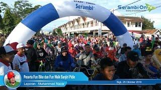 Peserta Fun Bike dan Fun Walk Banjiri Pidie