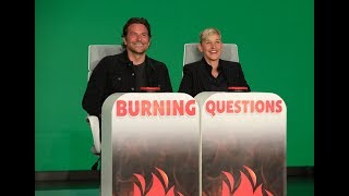 Video Bradley Cooper Answers Ellen's 'Burning Questions' MP3, 3GP, MP4, WEBM, AVI, FLV Juli 2019