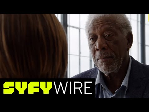 The Story Of God With Morgan Freeman - Celebrity Interview | SYFY WIRE
