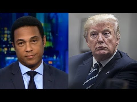CNN's Don Lemon Slams Donald Trump On Live TV The 'President Is Racist' — Watch