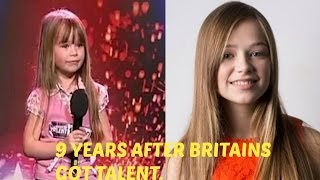 Video 9 YEARS AFTER BRITAIN'S GOT TALENT(Age 6 to 15) - Connie talbot MP3, 3GP, MP4, WEBM, AVI, FLV Agustus 2018