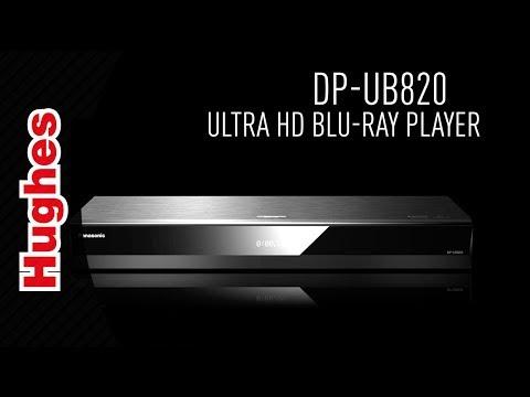 Panasonic DP-UB820 Blu-ray Player - 2018 Range