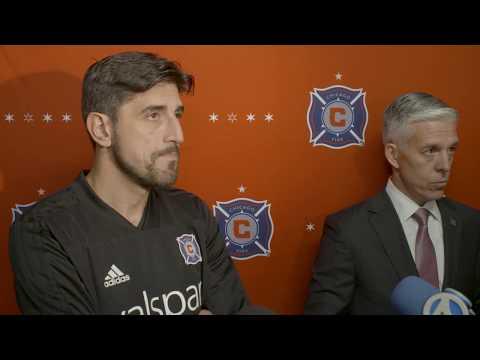 Video: Paunovic, Rodríguez host first preseason media availability